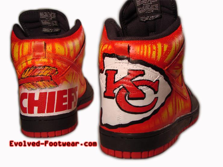 Chiefs Nike Shoes